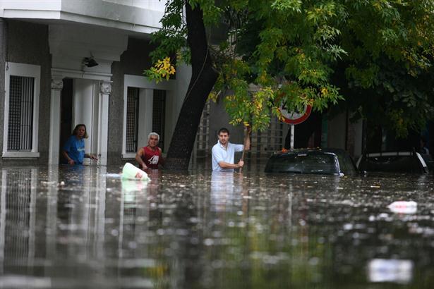 Fotos de las inundaciones en la plata 86