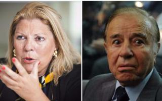 Carlos Menem encabeza la lista con el 56,8% de ausentismo. Le sigue Elisa Carrió, con el 21,6%.
