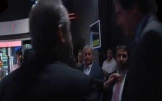 Casi se van a las manos. Moreno y Feinmann se volvieron a cruzar en televisión.
