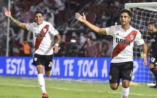 Martínez abrió el marcador desde el punto del penal.