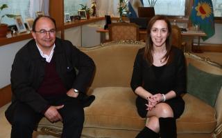 Salomón ve con buenos ojos la postulación presidencial de Vidal.