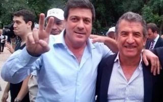 Mariotto y Urribarri celebraron juntos el día del trabajador.