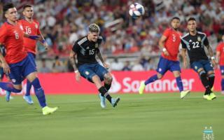 Argentina jugó sin Messi.