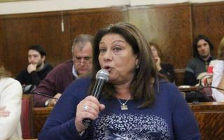 Secretaria docente del STM, Alejandra Ayek.