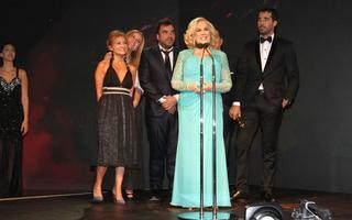 Mirtha Legrand se llevó un premio inédito: El Martín Fierro de Brillante.