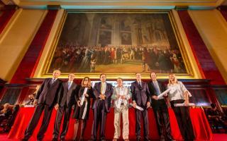 Políticos distinguidos con el Konex 2018.
