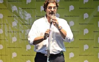 Leonardo Sarquís, Ministro de Agroindustria de la Provincia.