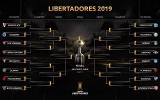 No habrá superclásico en los octavos de la Libertadores.