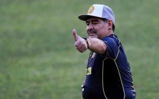 Gimnasia quiere al Diego como DT.