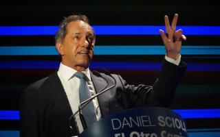 Scioli planteó cuál sería su postura con el FMI si llega a la Presidencia.