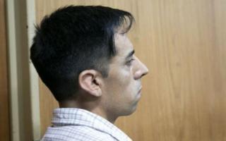 Alejandro Mendoza, el detenido.