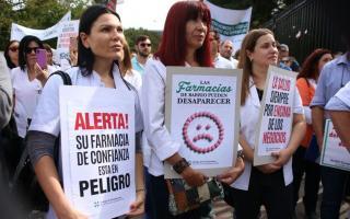 Farmacéuticos bonaerenses se oponen al desembarco de Farmacity en la Provincia.