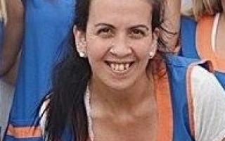Paula González, la docente denunciada del jardín Aventura en Pañales.