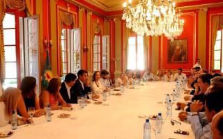 Vidal se reunió con diputados bonaerenses de Cambiemos.