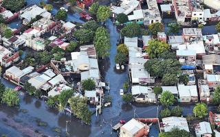 Inundación de abril de 2013 en La Plata.