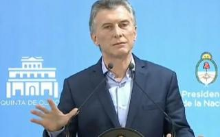 Macri hablará sobre su gestión a días de finalizar su mandato.