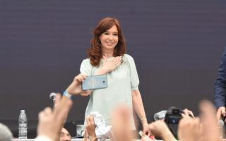 Cristina retoma la campaña.