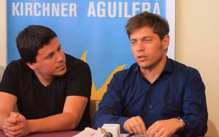 Kicillof ya apadrina candidaturas en Municipios.