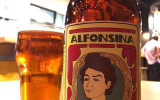Alfonsina, la cerveza solidaria.