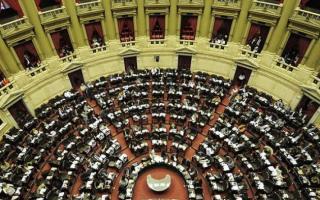 Cámara de Diputados de la Nación. Foto: Archivo.