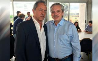 Scioli volvió a la escena política de la mano de Alberto Fernández.