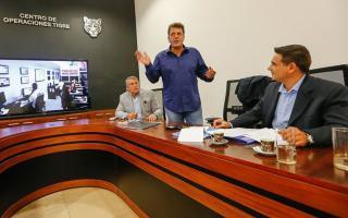 Massa reunió a sus dirigentes para debatir el nuevo Código Penal.