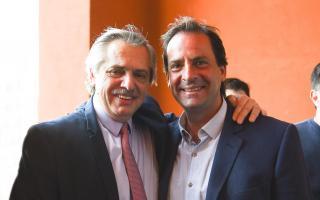 Fernández y Sujarchuk. Foto: archivo.