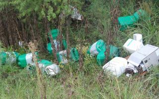 Polémica por el tratamiento de los envases de fitosanitarios en la Provincia. Foto: Ilustración.