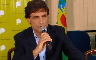 Lacunza dijo que la Provincia tiene déficit.