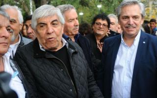 Moyano volvió a respaldar a Fernández.
