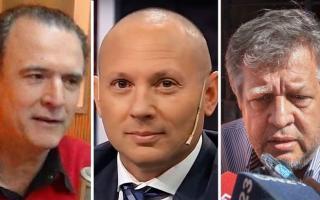 Santoro, D'Alessio y Stornelli, tres caras del poder judicial y mediático que operan para la coalición gobernante.