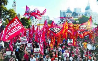 El Frente de Izquierda hará un acto en Plaza de Mayo. Foto: Ilustración.