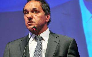 Scioli busca consolidar su postulación presidencial.