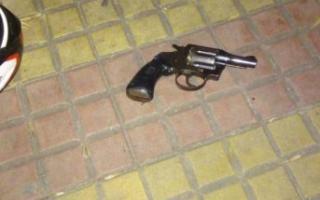 Al fallecido le encontraron un arma de fuego.