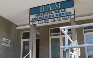 La enfermera trabaja en en Hospital de la Asociación Médica (HAM).