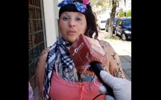"""La Chabona"", re caliente con Crónica."