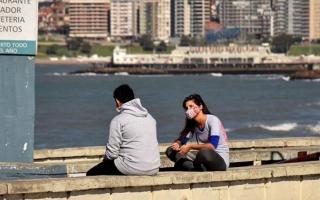 Mar del Plata registró en total 895 casos de coronavirus. Foto: Ilustración.