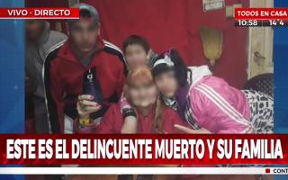 La publicación errónea de Crónica TV que desató la polémica.