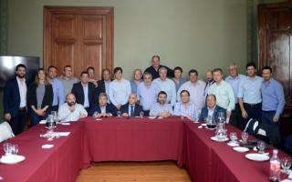 Los dirigentes radicales de la Provincia mantuvieron un encuentro en la Legislatura.