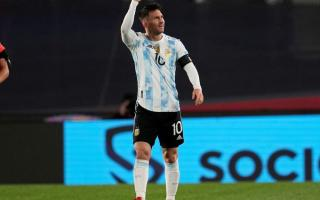 Messi, imparable.