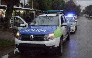 El asalto ocurrió en un departamento de la calle 58 entre 8 y 9. Foto: Prensa