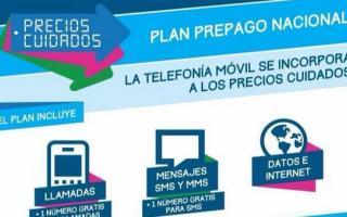 El plan incluye llamados, SMS e internet móvil