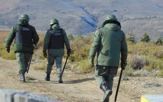 Los gendarmes dijeron que no vieron a nadie tirar piedras. Foto: El Patagónico