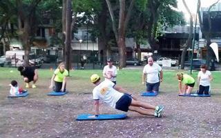 Buscan regular la actividad física al aire libre. Foto: Perfil