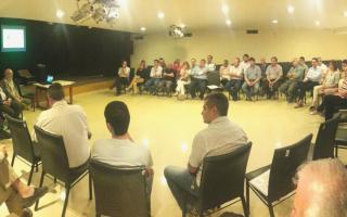 Reunión para abordar la problemática del barigüí.