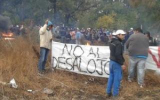 """""""No al desalojo""""."""