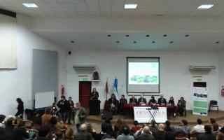 Acto de apertura de la 5° Jornada de Agricultura Familiar. Foto: Cristhiam López Ladino.