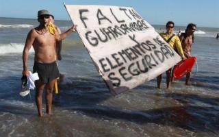 La medida de fuerza abarca a Cariló, Ostende y Valeria del Mar. Foto: El Día