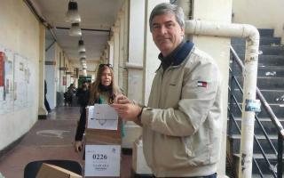 Mor Roig, el ganador en la capital bonaerense. Foto: El Día.