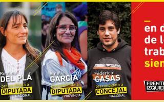 El folleto de difusión del Partido Obrero para La Plata. Foto: Facebook Partido Obrero La Plata